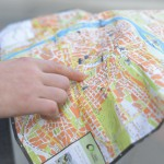 地図を見るだけで考える人、実際に行ってみて考える人。