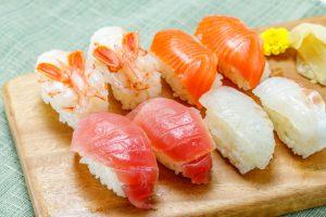 札幌と九州の寿司